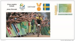 Spain 2016 - Olympic Games Rio 2016 - Gold Medal Cross-country Female Sweden Cover - Juegos Olímpicos
