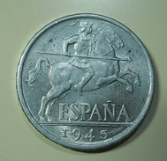 Spain 10 Centimos 1945 - [ 4] 1939-1947 : Nationalist Government