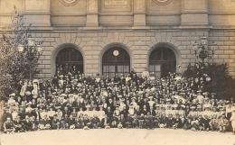 GENEVE CONGRES ESPERANTISTE INTERNATIONAL 1906  CARTE PHOTO  ESPERANTO VIGNETTE CONGRES CAMBRIDGE 1907 - GE Geneva