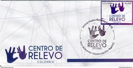 Lote 2016-12F, Colombia, 2016, SPD-FDC, Centro De Relevo, Sordomudos, Lenguaje De Señas, Deaf-mute, Sign Language - Colombie