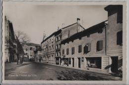 Cully - Place De L'Hotel De Ville - Photo: Perrochet-Matile - VD Vaud