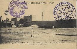 """Sans Date -C P A De BOU-DENIB  - """" POSTE De BOU-DENIB ( HAUT-GUIR ) """" - Cachets Militaires A Partir De 1900 (hors Guerres)"""