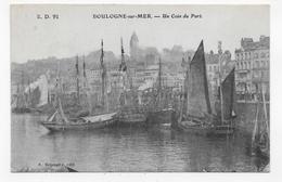 BOULOGNE SUR MER - N° 91 - UN COIN DU PORT - CPA NON VOYAGEE - Boulogne Sur Mer