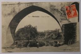 CPA MONTAUBAN Sous Le Pont 1909 - TOJ09 - Montauban