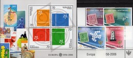 Topics First Issue Stamps CEPT 2006 Armenien Block 24+Montenegro 108/1 TAB ** 14€ Hoja Bloc S/s Sheet Bf M/s EUROPA - Arménie