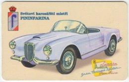 CZECH REP. B-689 Chip Telecom - Painting, Traffic, Historic Car - Used