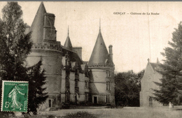 GENCAY CHATEAU DE LA ROCHE - Gencay