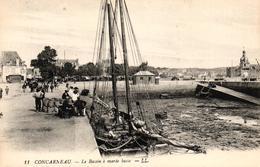 CONCARNEAU - LE BASSIN A MAREE HAUTE - Concarneau