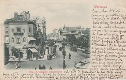 17 / 4 / 182  -  WARSZAWA - VUE  D' UNE  RUE - Polen