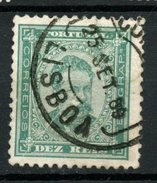 Portugal 1884 10r King Luiz Issue #59 - Used Stamps