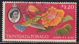 Trinidad & Tobago 1960  Humming Bird Plant Flower Used