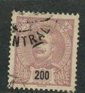 Portugal 1895 200r King Carlos  Issue #129 - 1892-1898 : D.Carlos I