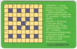 LATVIA A-094 Chip Lattelkom - Used