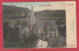 La Roche - La Nouvelle église .... Jolie Carte Couleur - 1906  ( Voir Verso ) - La-Roche-en-Ardenne