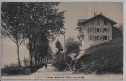 Huemoz - Route De Villars Et La Cure - Photo: L. Bütner - VD Vaud