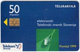 SLOVENIA B-280 Chip Telekom - Used