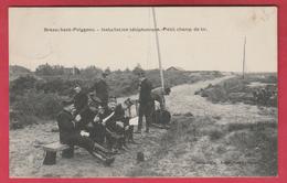 Brasschaet-Polygone - Installation Téléphonique - Petit Champ De Tir - 1914 ( Verso Zien ) - Brasschaat