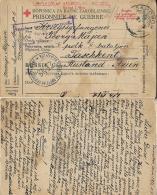 POW CAMP FOR AUSTRO-HUNGARY LAGER TASKENT RUSSIA 1917 CROATIA SAMOBOR - Militärpost (MP)
