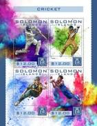SOLOMON ISLANDS 2016 SHEET CRICKET SPORTS DEPORTES Slm16423a - Salomoninseln (Salomonen 1978-...)