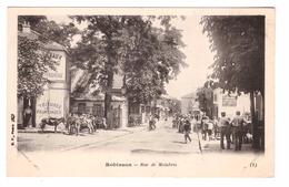 92 Robinson Rue De Malabris Cpa Animée Ane - Le Plessis Robinson