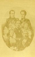 France Paris Famille Du Prince Imperial Eugene Ancienne Photo CDV Teruel 1870