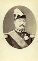 France Paris Marechal De France Achille Bazaine Ancienne Photo CDV LSC 1870