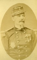 France Paris General Antoine Alfred Chanzy Ancienne Photo CDV Teruel 1870