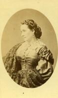 Chanteuse D' Opera Belge Soprano Marie Cabel Ancienne Photo CDV Petit 1870
