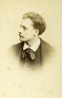 France Paris Opera Tenor Victor Capoul Ancienne Photo CDV Reutlinger 1870