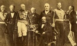 Maréchaux De France Du Second Empire Photomontage Ancienne Photo 1870