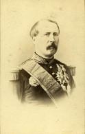France Paris Marechal Mac Mahon Duc De Magenta Ancienne Photo CDV 1870