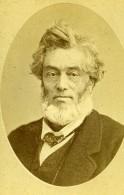 France Paris Politicien & Avocat Jules Favre Ancienne Photo CDV Bacard 1870