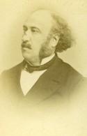 France Paris Philosophe Politicien Jules Simon Ancienne Photo CDV Otto & Fiere 1870