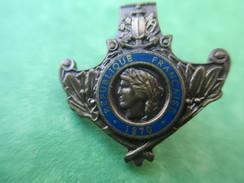 Insigne De Revers De Col/ Médaille Militaire? /à Déterminer/N° Sociétaire =09446/  Vers 1960-1980 ?   MED107 - Insignes & Rubans