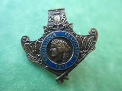 Insigne De Revers De Col/ Médaille Militaire? /à Déterminer/N° Sociétaire =03197/  Vers 1960-1980 ?   MED108 - Insignes & Rubans