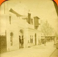France Paris Expo Universelle Maison Du Maroc Anciennne Photo Stereo Transparente LL 1889 - Stereoscopic