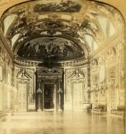 France Paris Senat Salle Du Trone Anciennne Photo Stereo Transparente GAF 1860