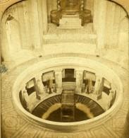 France Paris Hotel Des Invalides Anciennne Photo Stereo Transparente GAF 1860 - Stereoscopic