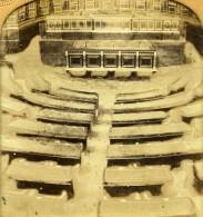 France Paris Palais Du Sénat Salle Des Seances Anciennne Photo Stereo Transparente GAF 1860 - Stereoscopic