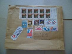 Lettre Rec R2 Sans AR Bagnols 2/4/2008 à M. 4/4/2008 N°1621;1840;1859;2345;2392;2555 Paire Carnet 2043 & S 47;50 & 53 TB - Lettres & Documents
