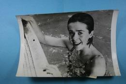 Vittel 16/7/72  Sylvie Le Noach Record De France Du 200M Dos /50/ - Sport