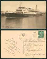 BARCOS SHIP BATEAU PAQUEBOT STEAMER [BARCOS #01719] - OSTENDE LA MALLE PRINCE BAUDOUIN - Steamers