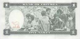 ERITREA 1 Nakfa 1997 P-1 **UNC** - Erythrée