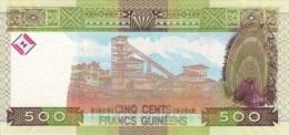 GUINEA 500 Francs 2012  P-39b   **UNC** - Guinee