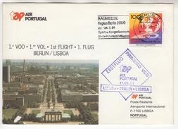 TAP Air Portugal. 1 Ier Vol : 1. Flug Berlin - Lisboa. 17/3/1991 - BRD