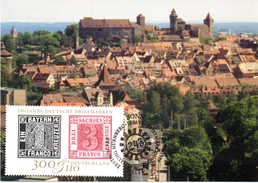 "BRD Maximumkarte ""Int. BM-Ausstellung IBRA'99 - 150 Jahre Deutsche Briefmarken"" Mi 2041 ESST 27.4.1999 BONN - [7] République Fédérale"