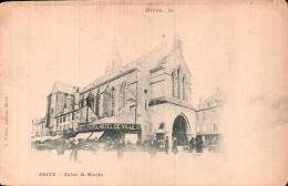 19 BRIVE EGLISE SAINT MARTIN CARTE PRECURSEUR PAS CIRCULEE - Brive La Gaillarde