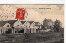 CHEVREMONT - La Choucrouterie - 1908 - BE - Autres Communes