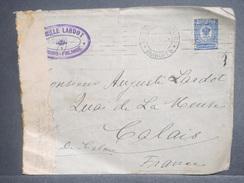 FINLANDE - Enveloppe De Wiborg Pour Calais En 1915 Avec Contrôle Postal , Affranchissement Plaisant - L 7087 - 1856-1917 Administration Russe