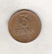 Bnk Sc Romania 3 Bani 1952 Excellent Condition - Romania